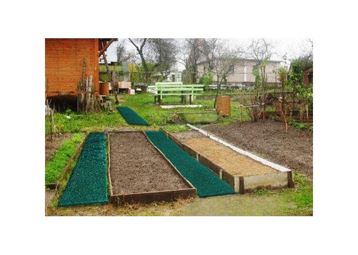 Как сделать дорожки в огороде своими руками